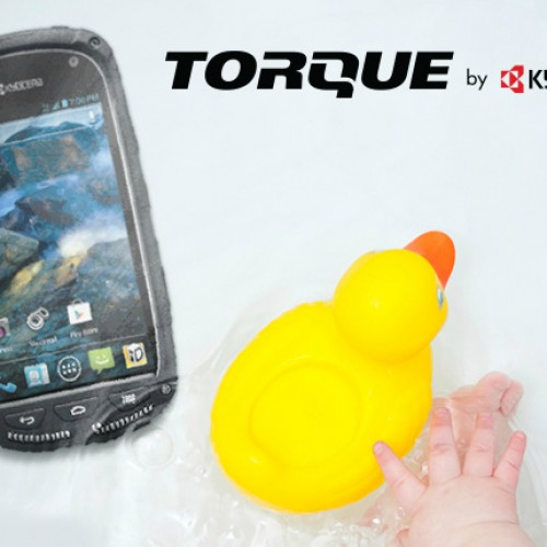 Sprint debuts rugged, waterproof Kyocera Torque
