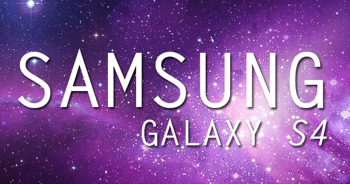 Galaxy S4 Logo Mockup Stars 720ag