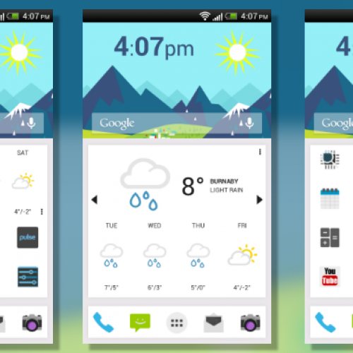 Get this look for your Android smartphone: Now 2.0