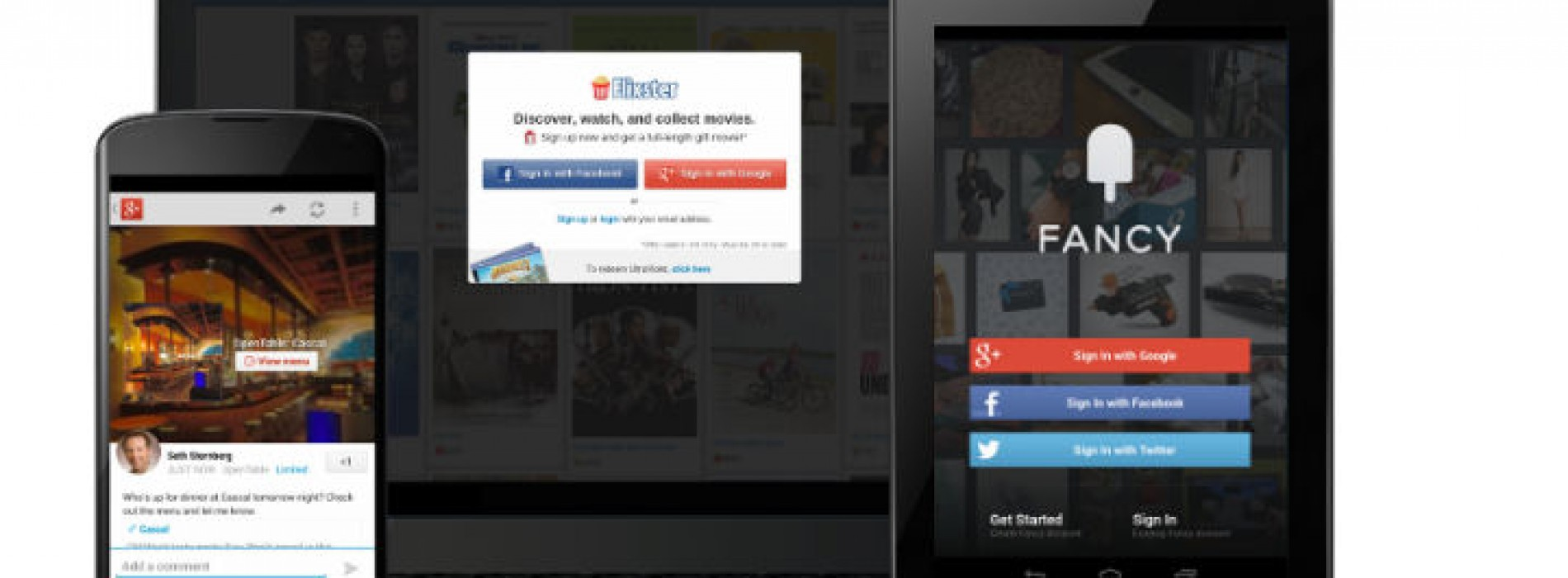 Google debuts Google+ Sign-In, the Facebook Login and Open Graph killer