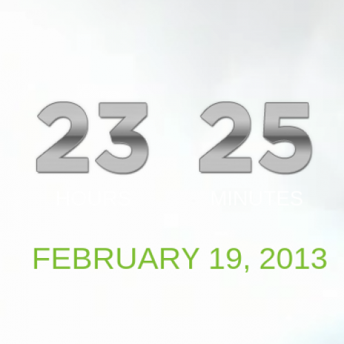 HTC countdown to February 19 heavily suggests HTC One