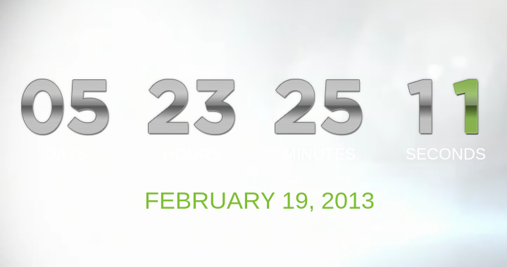 Htc One Countdown 720