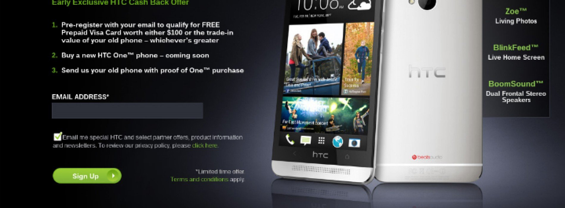 HTC introduces trade-in program for the HTC One
