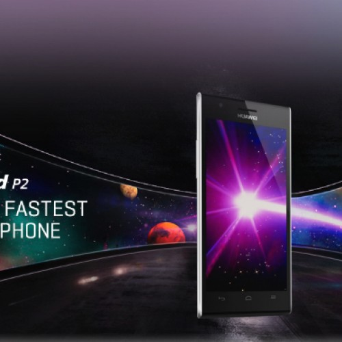Huawei Ascend P2 announced as world's fastest 4G LTE smartphone