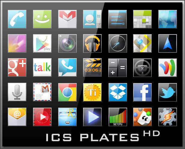 ICS Plates HD