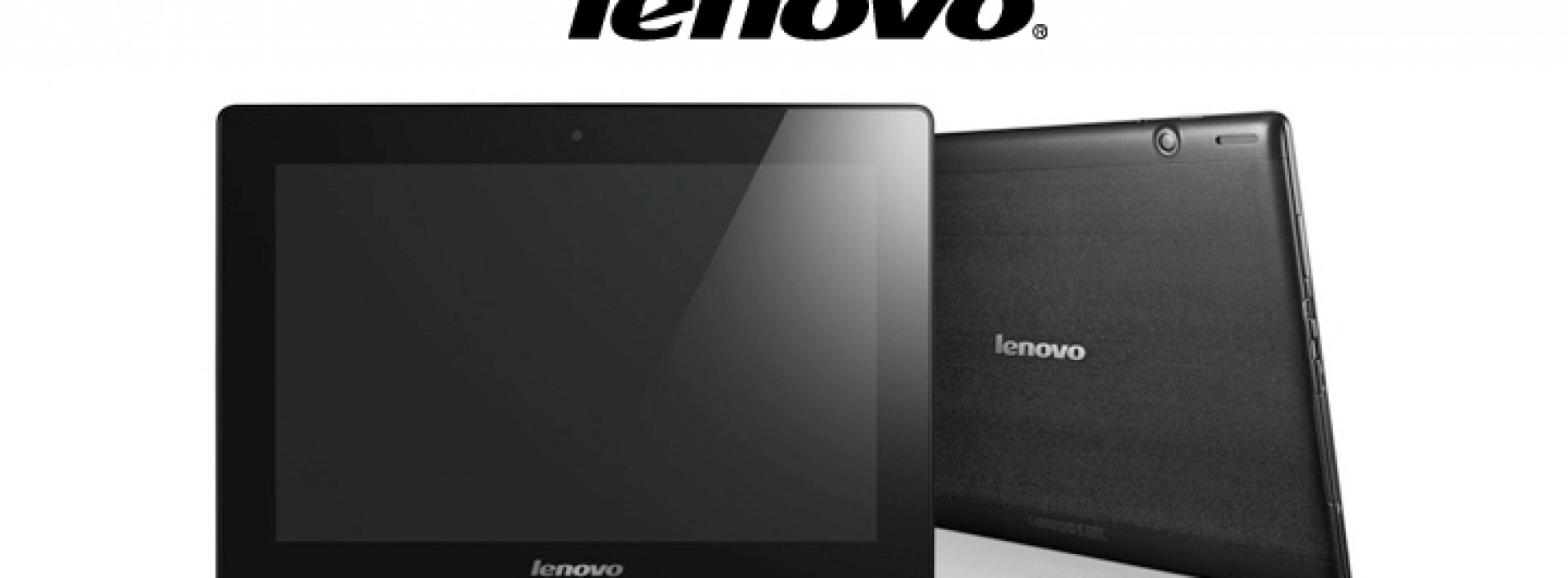 Lenovo announces trio of Android tablets for Q2