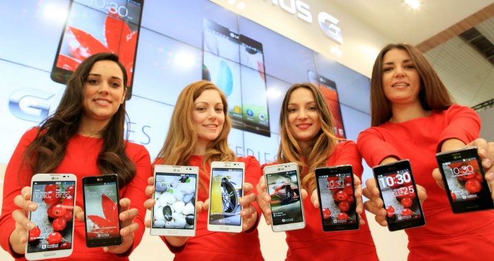 Lg Optimus Line 2013 Mwc 720