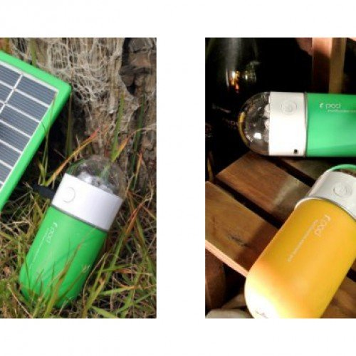 r.Pod Multifunction Portable Solar Battery Pack and USB Charger review