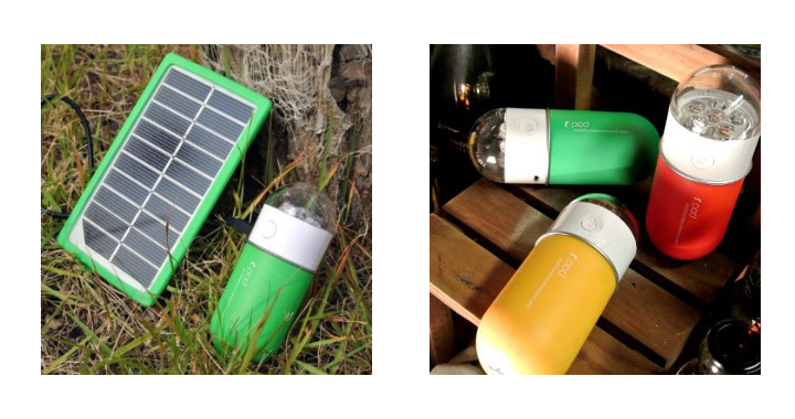 R Pod Multifunction Portable Solar Battery Pack And Usb