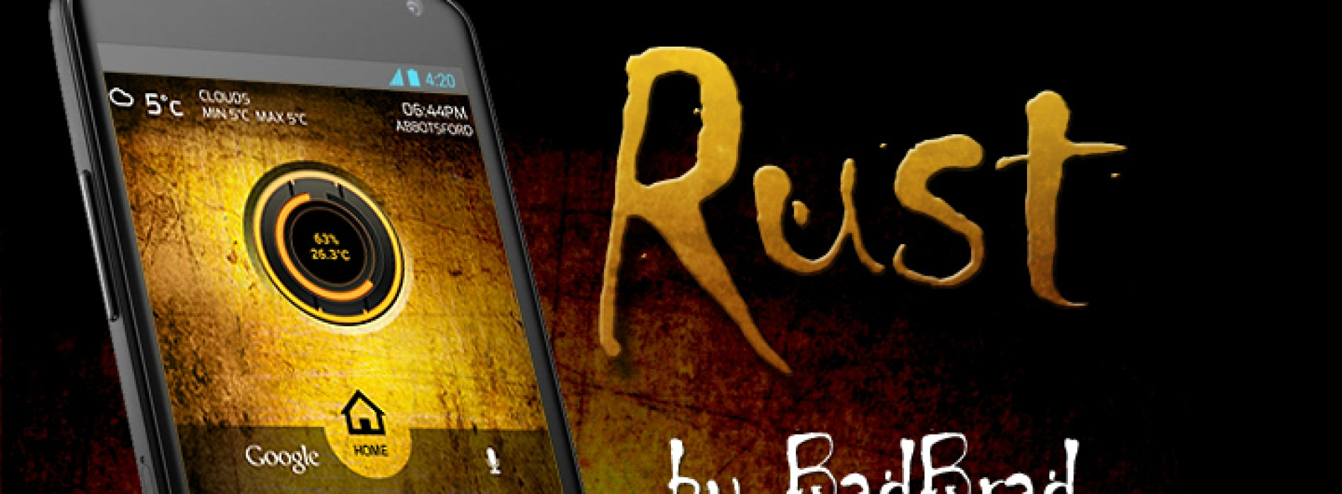 Get this look for your Android: Rust