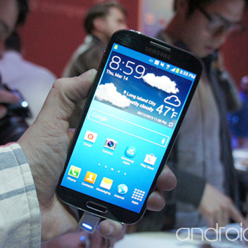Hands On: Samsung Galaxy S4 [Video]