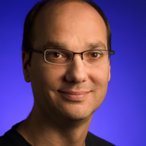 Andy Rubin passes the Android torch to Sundar Pichai