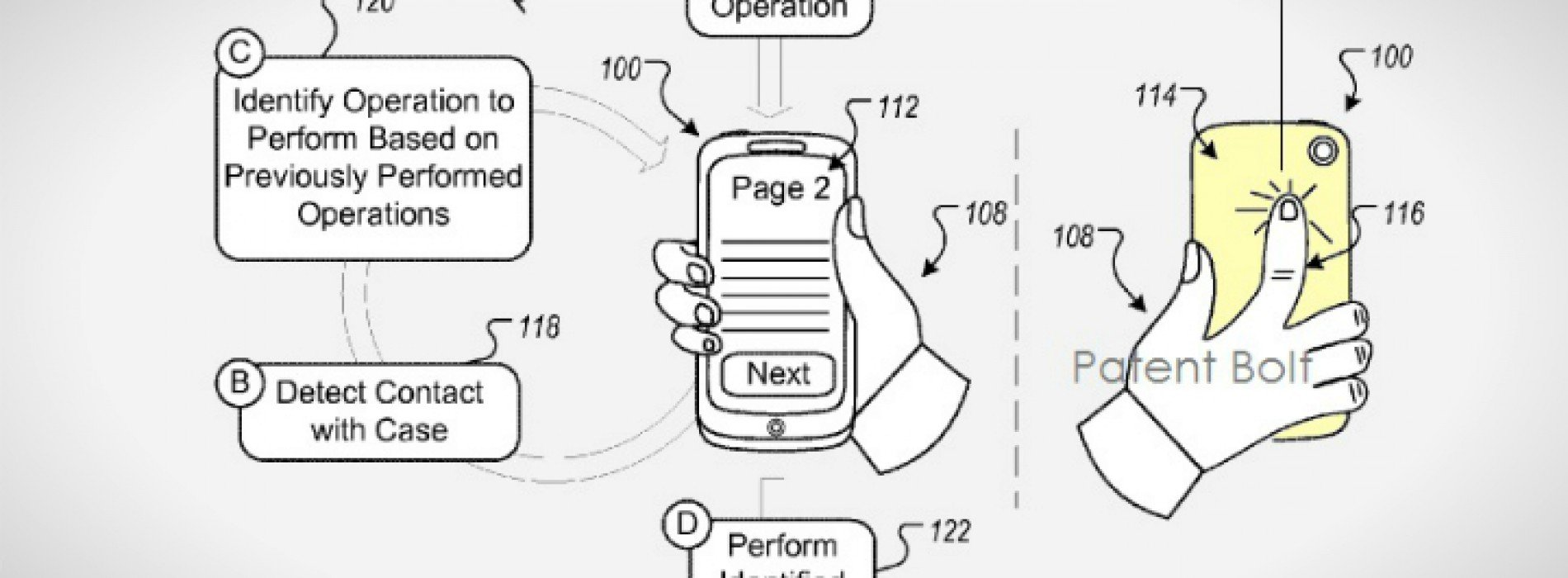 Google files a patent for backside controls on future devices