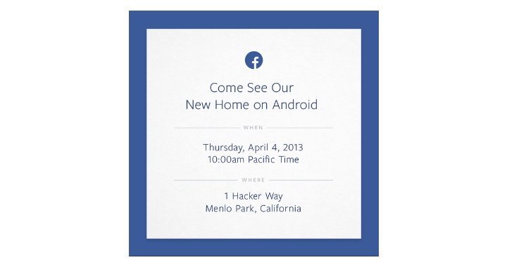 Facebook Press Invite