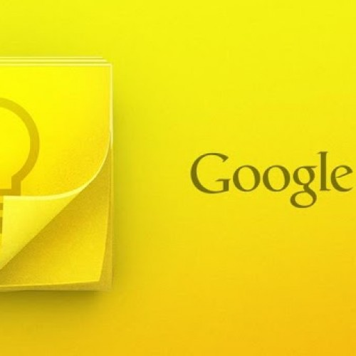 Google officially steps on Evernote's turf with Google Keep