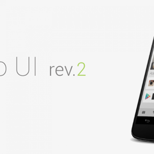 Get this look for your Android: Holo UI rev.2