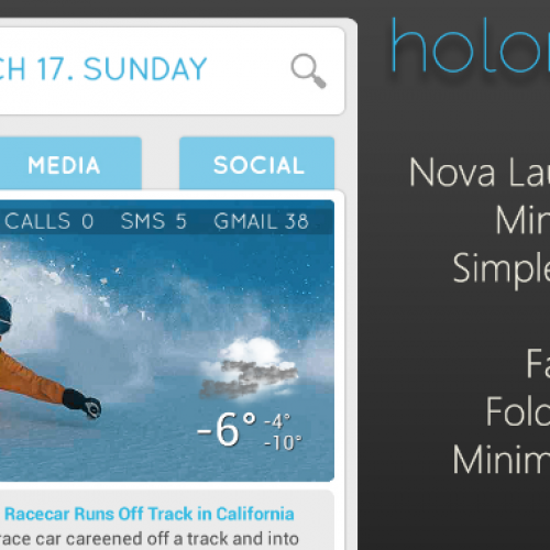 Get this look for your Android: Holonex UI