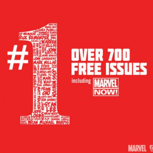 Marvel Comics offering over 700 first issues for free
