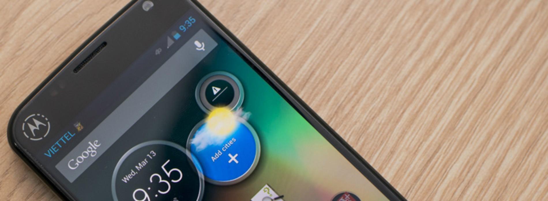 Leaked Motorola device tips Google influence
