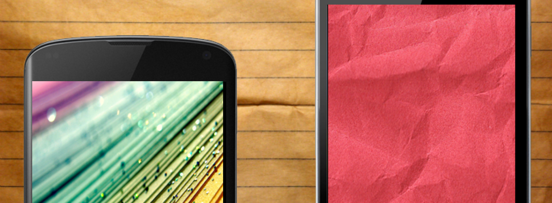 16 paper themed Android wallpapers