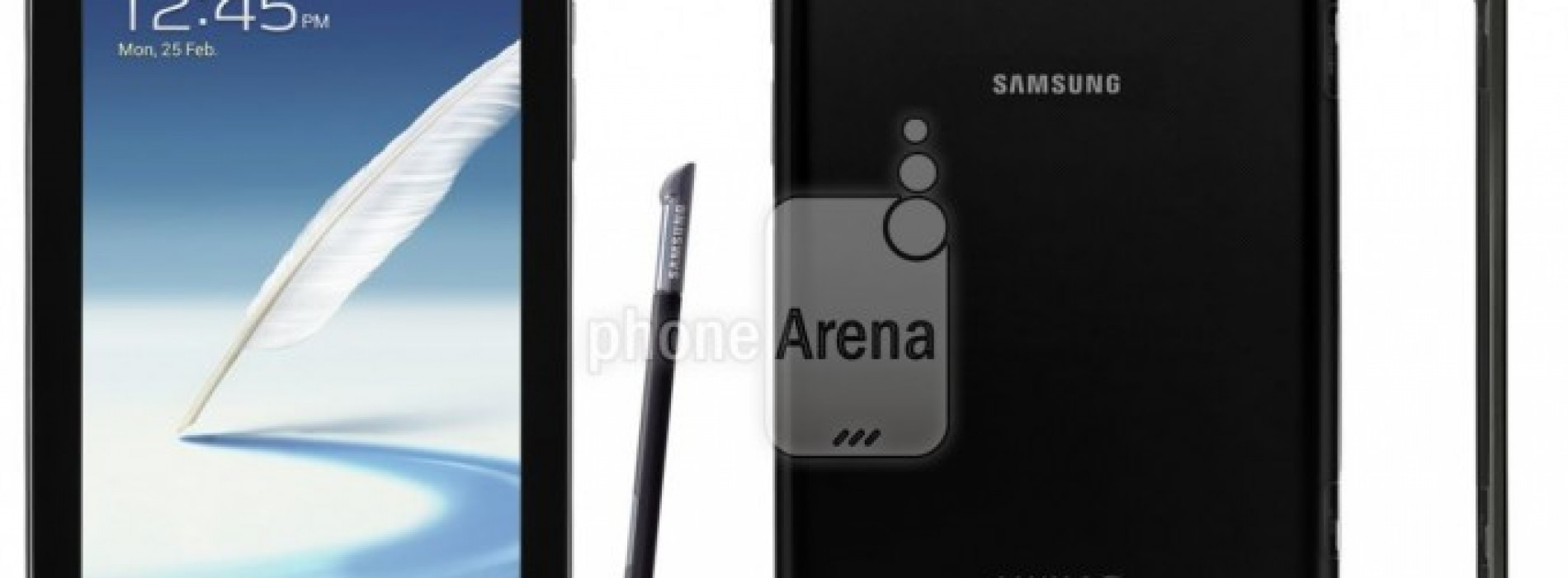 Charcoal Black Samsung Galaxy Note 8.0 leaked in images