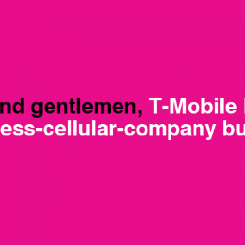 T-Mobile celebrates best quarter in nearly a decade