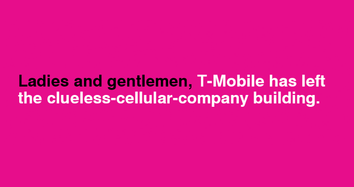 Tmobile Uncarrier 720