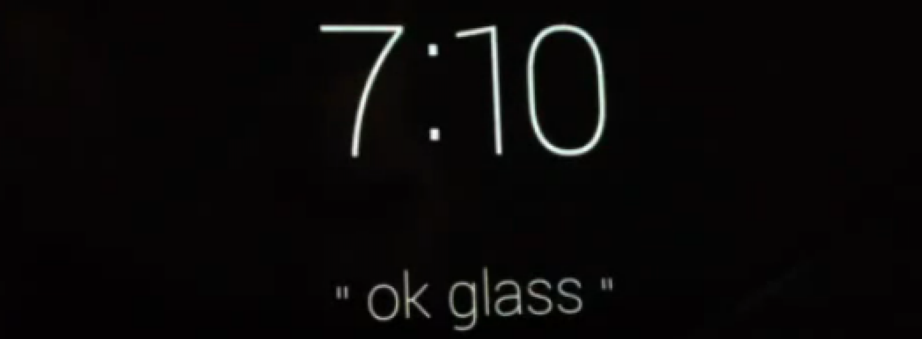 Want to see what the Google Glass menus look like? [video]