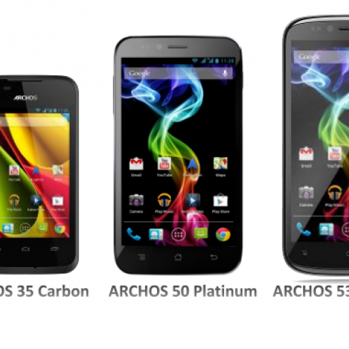 Archos intros affordable smartphone threesome