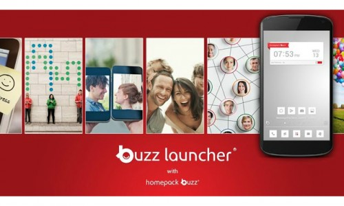 Buzz Launcher lets you apply other users' home screens