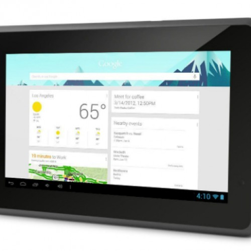Ematic Genesis Prime, the $80 Google Certified Jelly Bean tablet