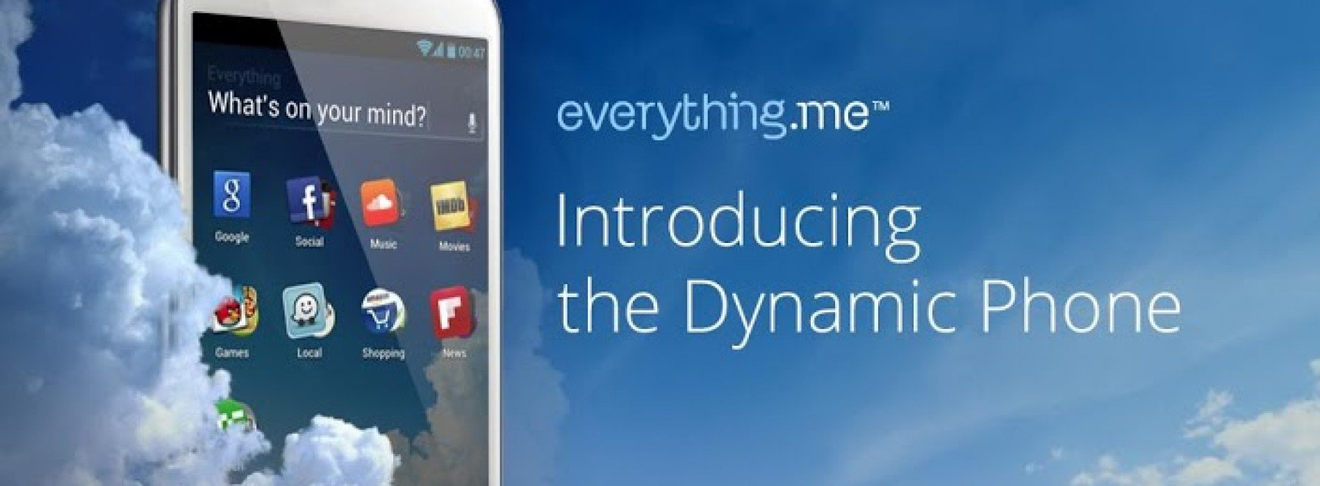 Everything.me (beta) debuts as your dynamic Android app launcher