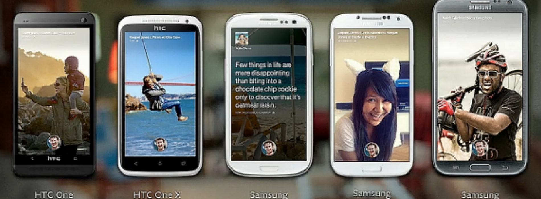 Facebook Home will be available for select Android devices starting April 12