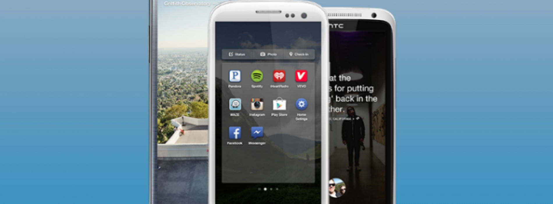 Download early pre-release version of Facebook Home for your Android