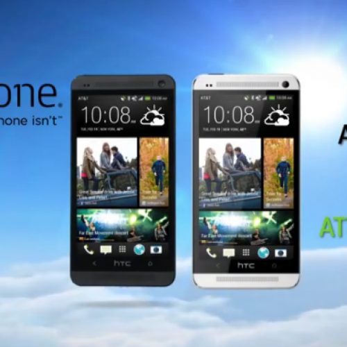 AT&T will be exclusive provider of 64GB HTC One