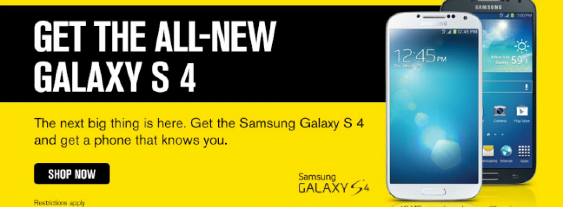 "Sprint: Samsung Galaxy S4 ""now flowing into sales channels"""