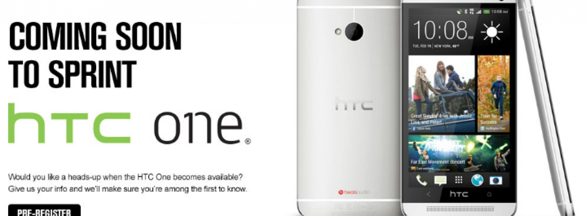 Sprint taps $199 HTC One with April 19 debut