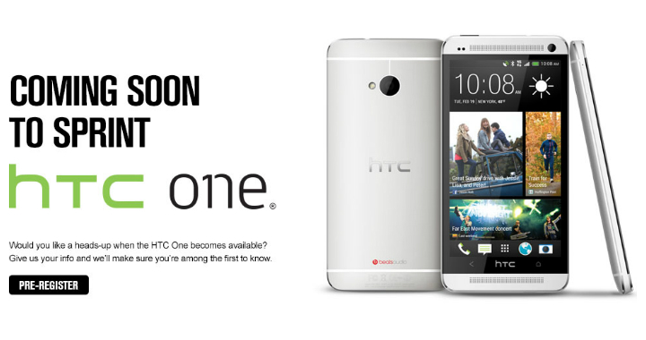 Sprint Htc One 720
