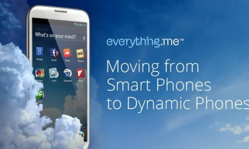 Everything.me Launcher: Personalize your homescreen on the fly, depending on what you're interested in