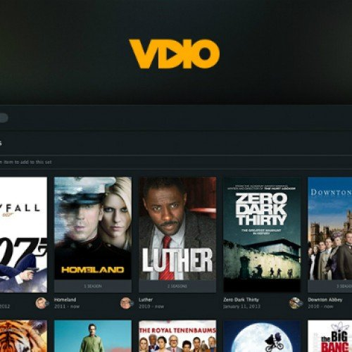 Rdio takes on Amazon, Netflix, Hulu Plus with new Vdio service