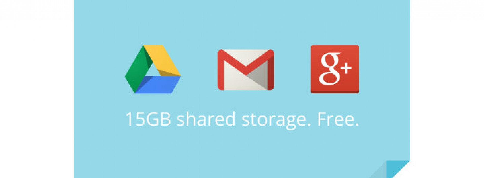 Google unifies Gmail and Drive storage with 15GB