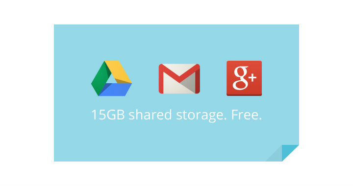 15gb Storage Google
