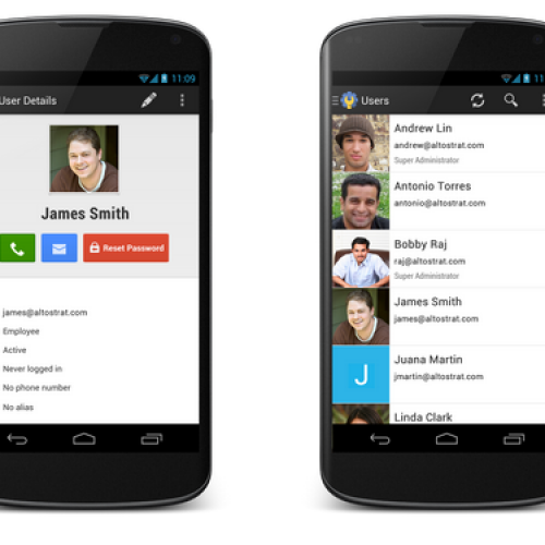 New Google Apps admin app for Android announced