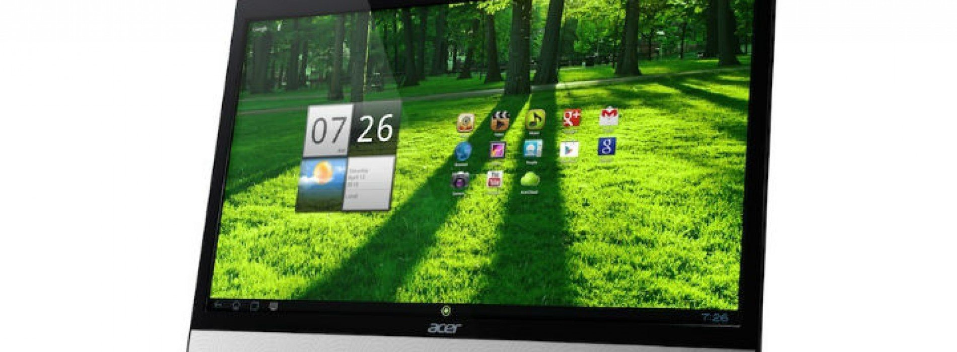 "21.5-inch Acer DA220HQL ""all-in-one"" announced with TI processor"