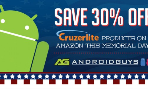 Save 30% on all Cruzerlite accessories with Memorial Day sale