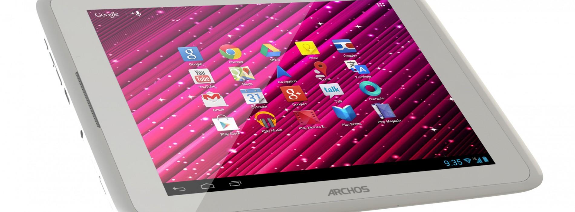 Archos intros 3G-ready 80 Xenon tablet