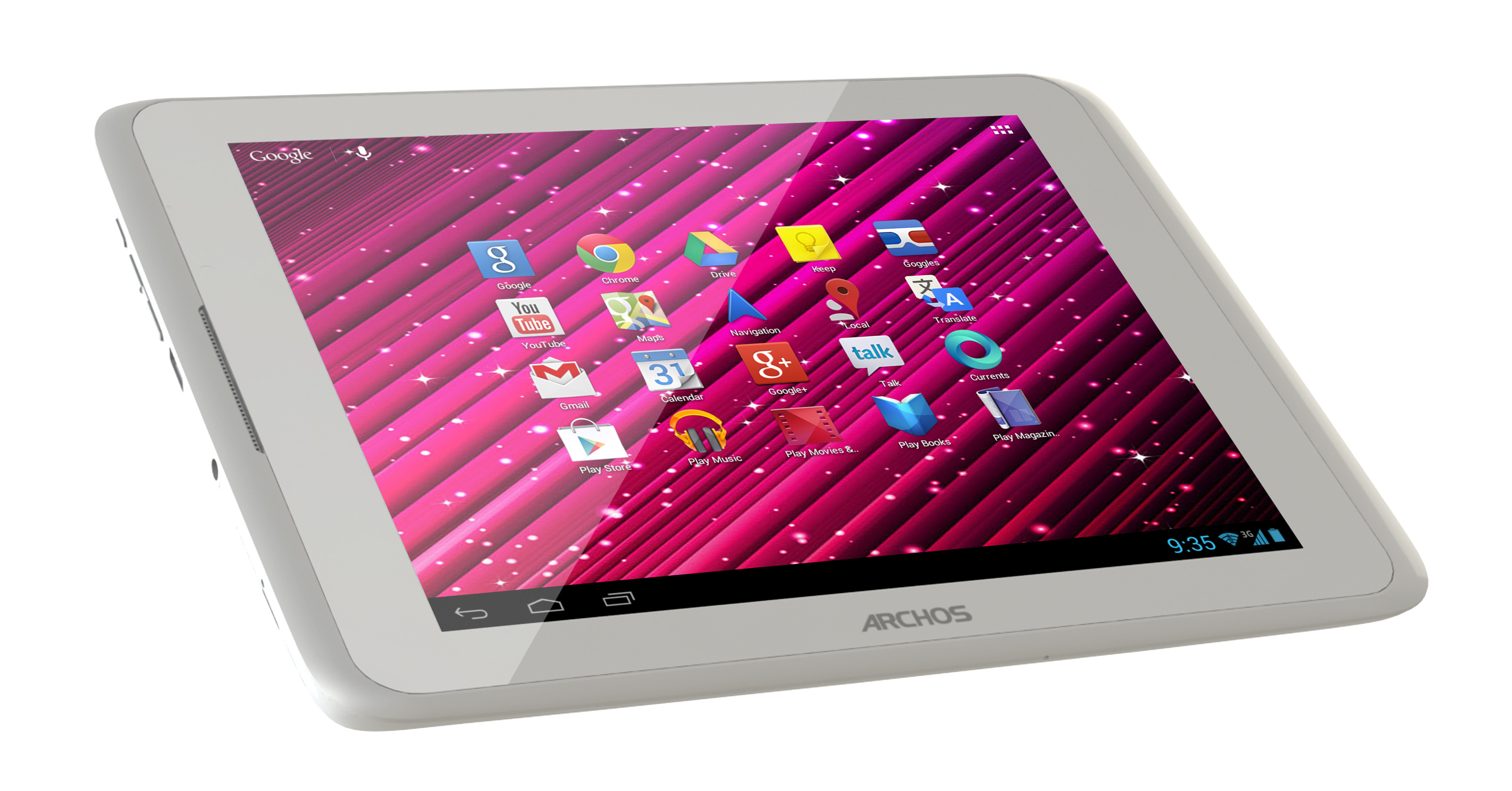 Archos 80xenon Gapps Hidef 3