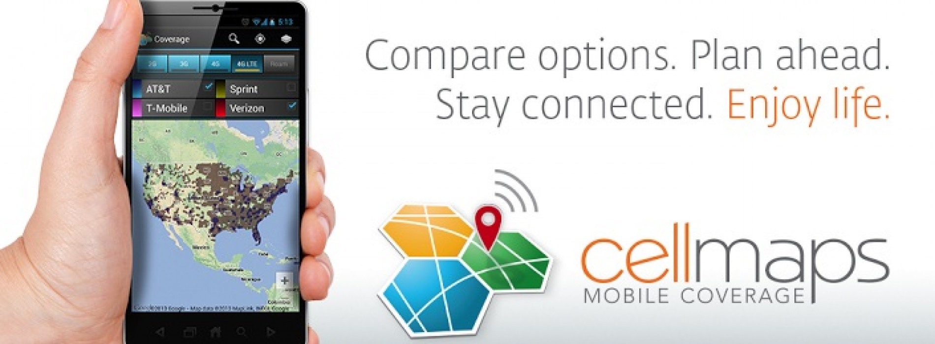 See 4G coverage in real time with new app from Mosaik