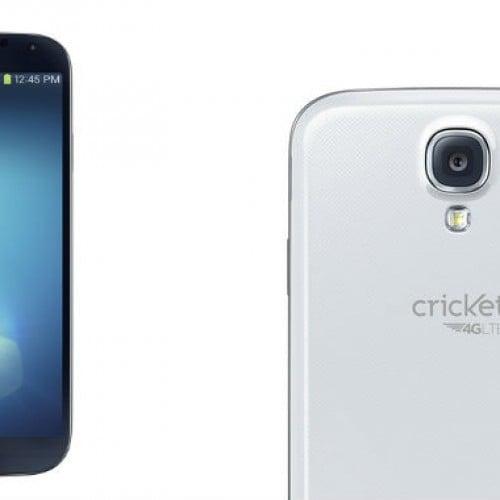 Cricket announces Samsung Galaxy S4 for June 7