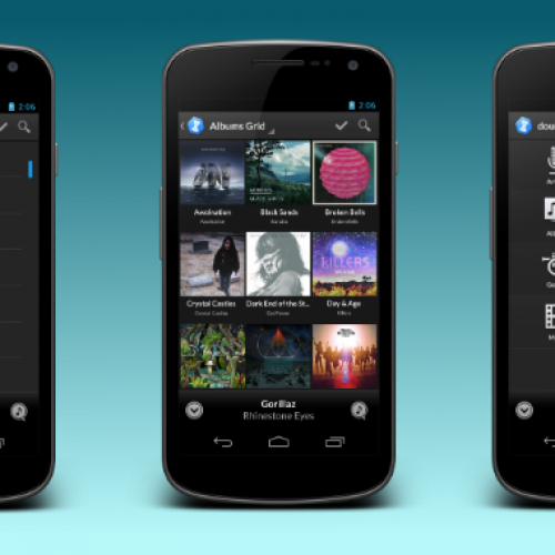 doubleTwist brings its design in-line with Android's Holo style